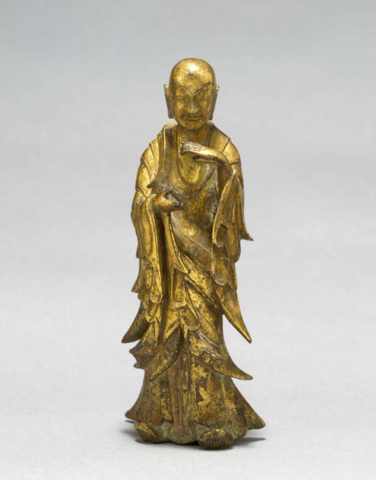 Стоящий буддийский монах. Китай, нач. VI в.