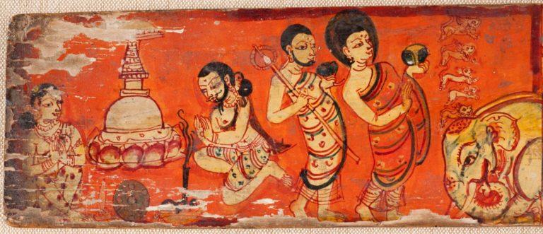Сцена из жизни Будды. XII в.