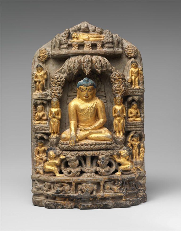 Сцены из жизни Будды. XI–XII вв.
