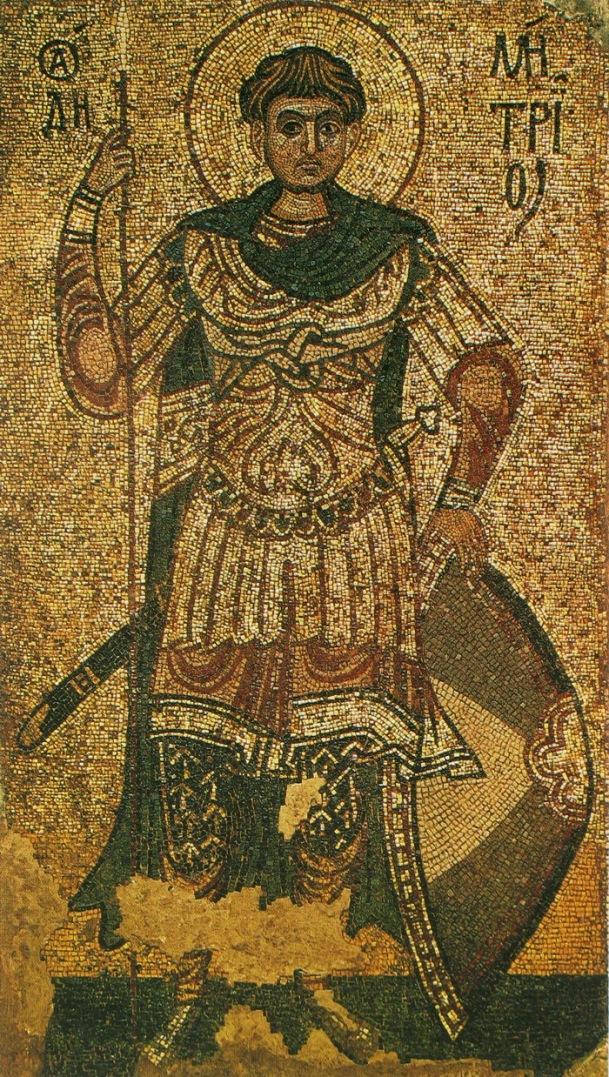 Св. Димитрий Солунский. XII в.