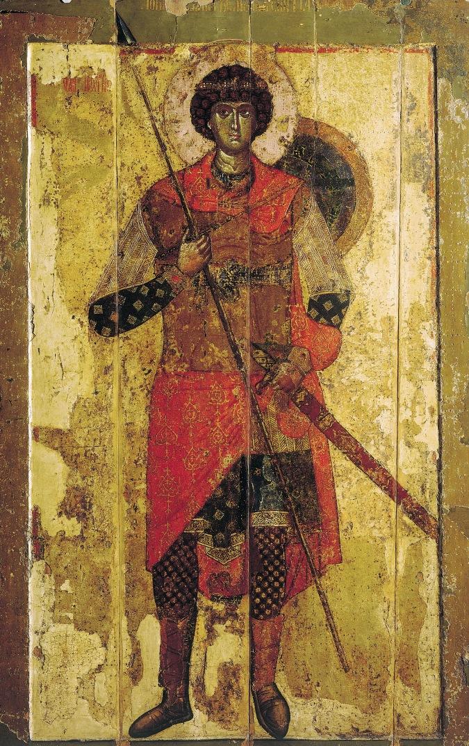 Св. Георгий Победоносец. XII в.