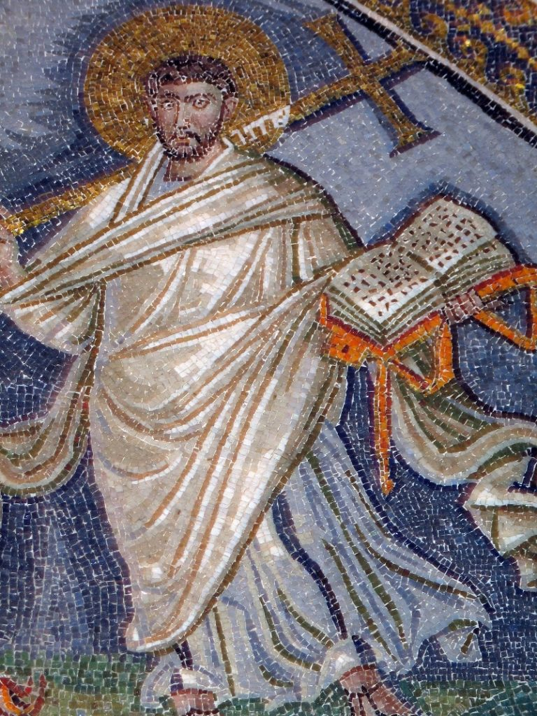 Св. Лаврентий (деталь)