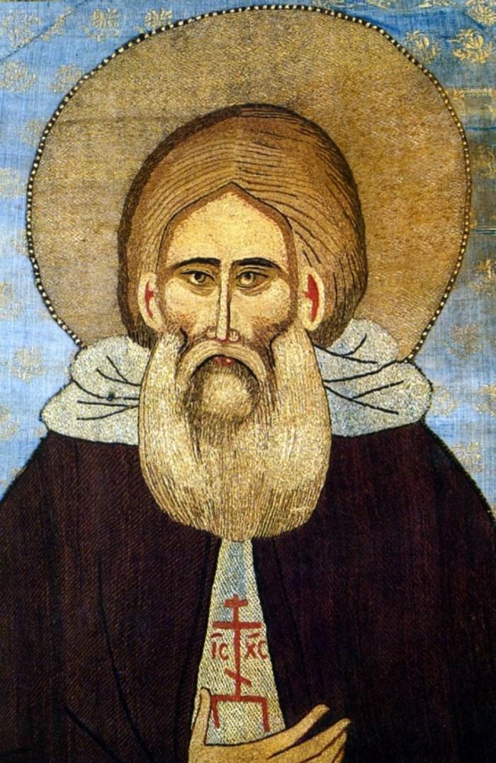 Св. Сергий Радонежский. Лик. 20-е гг. XV в.