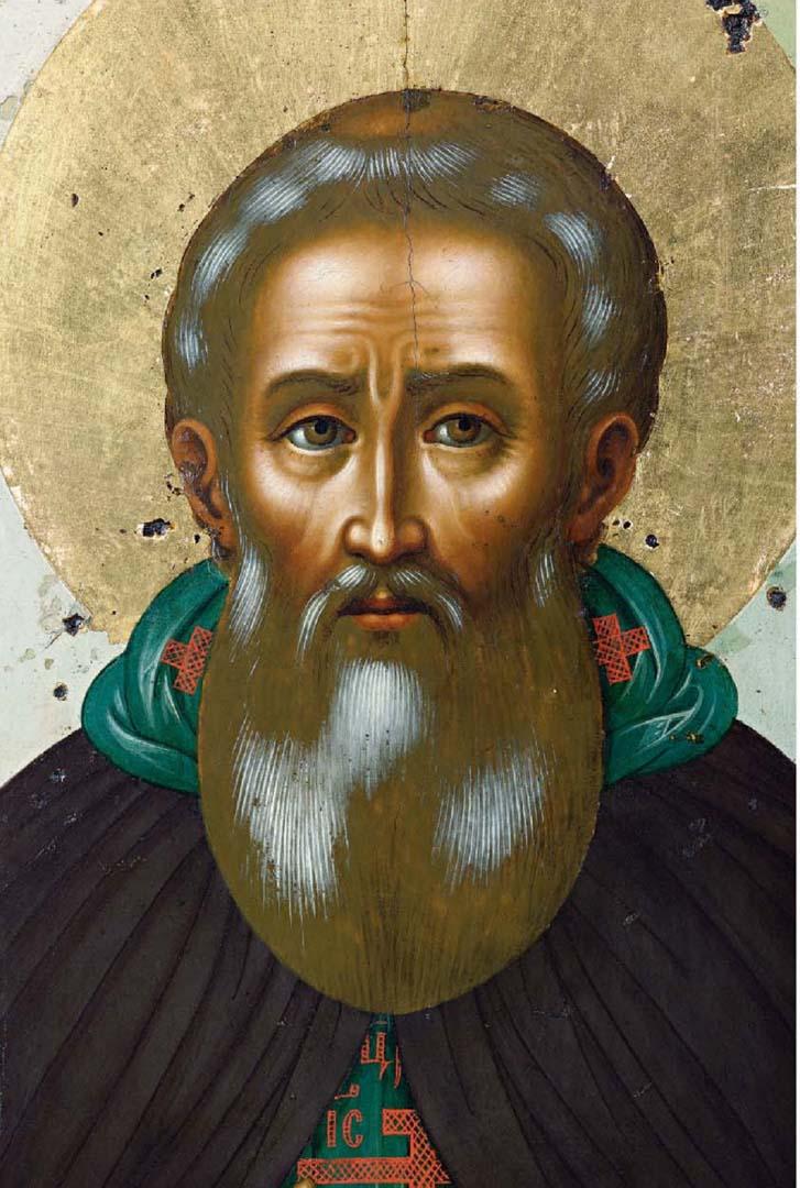 Св. Сергий Радонежский. Лик