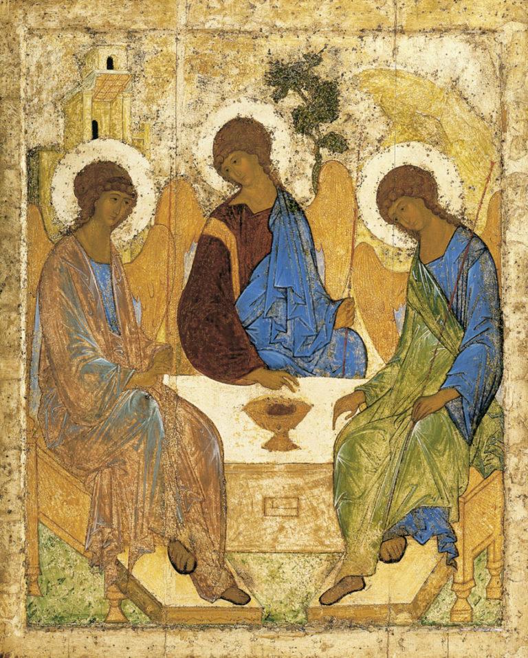 Св. Троица. 1411 или 1425—1427