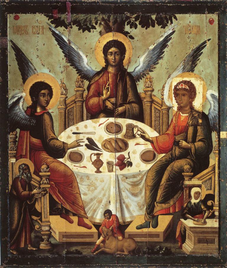 Св. Троица. 1700