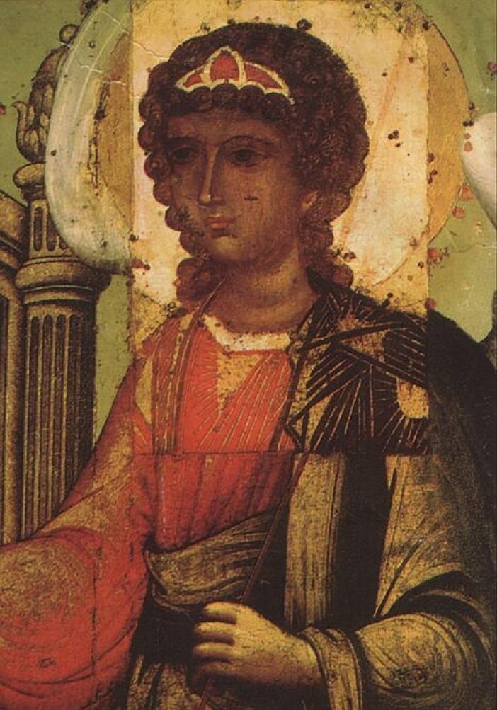 Св. Троица. Лик ангела. 1700