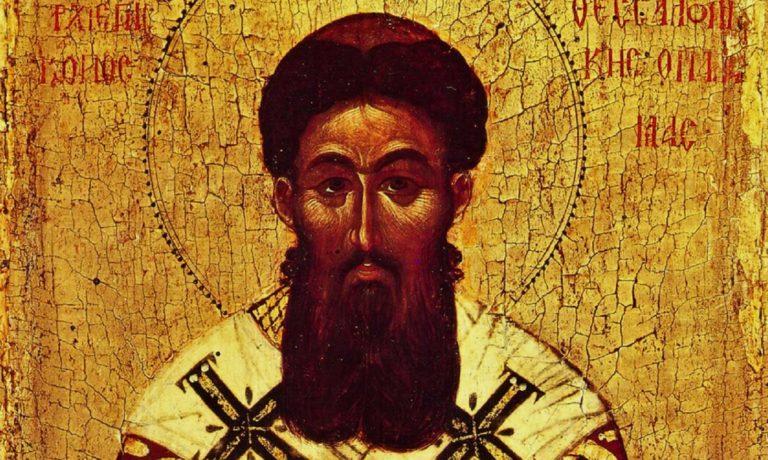 Святитель Григорий Палама. Деталь. 70-е гг. XIV – начало XV вв.