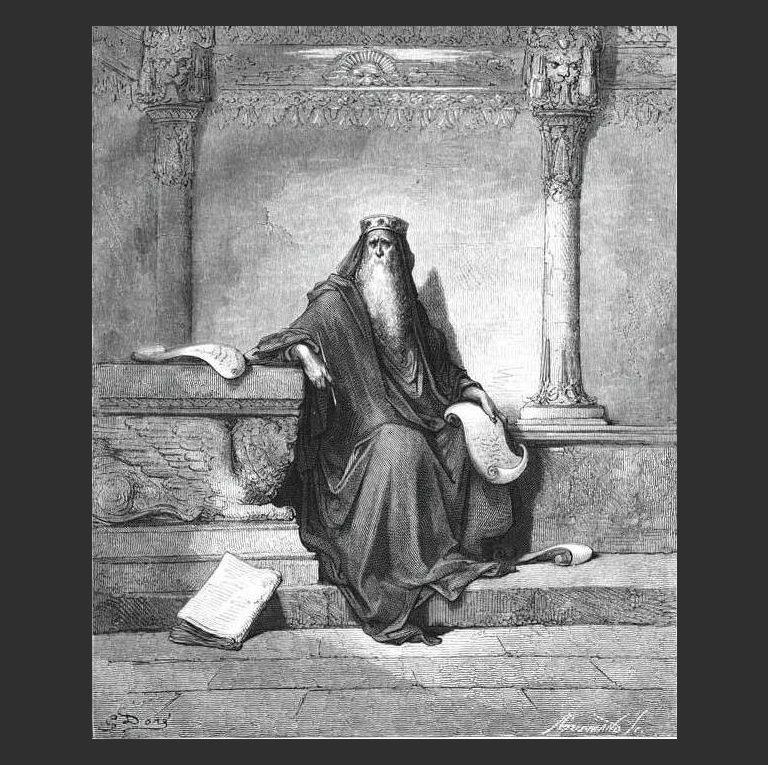Царь Соломон. 1865