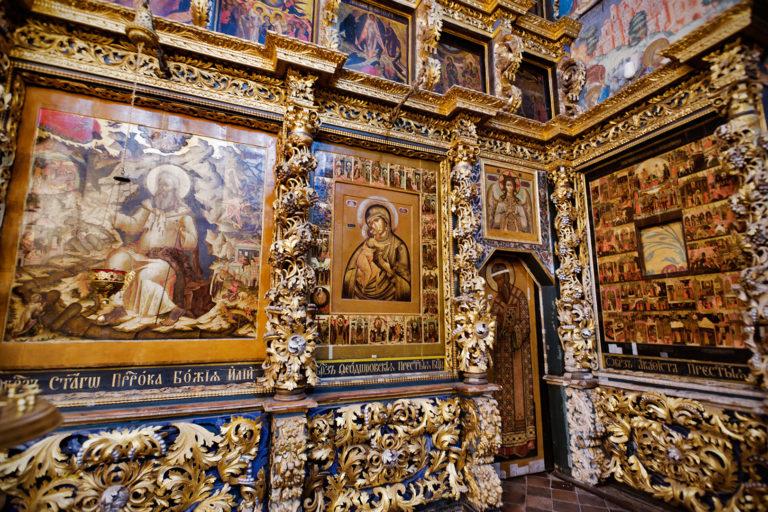 Церковь Ильи пророка. Иконостас