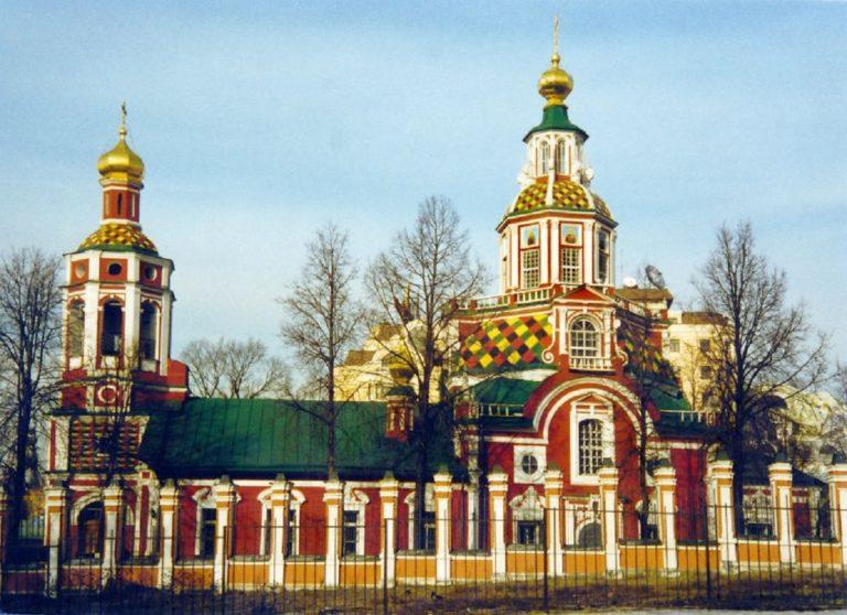 Церковь Иоанна Воина. 1704—1713