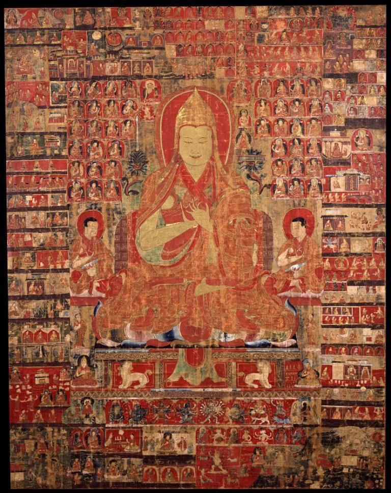 Цзонкхапа. XV в. Тибет