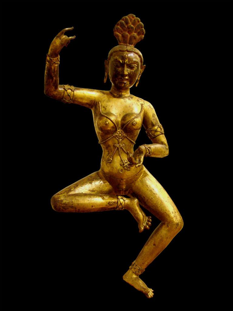 Танцующая дакини. Тибет, XVIII в.