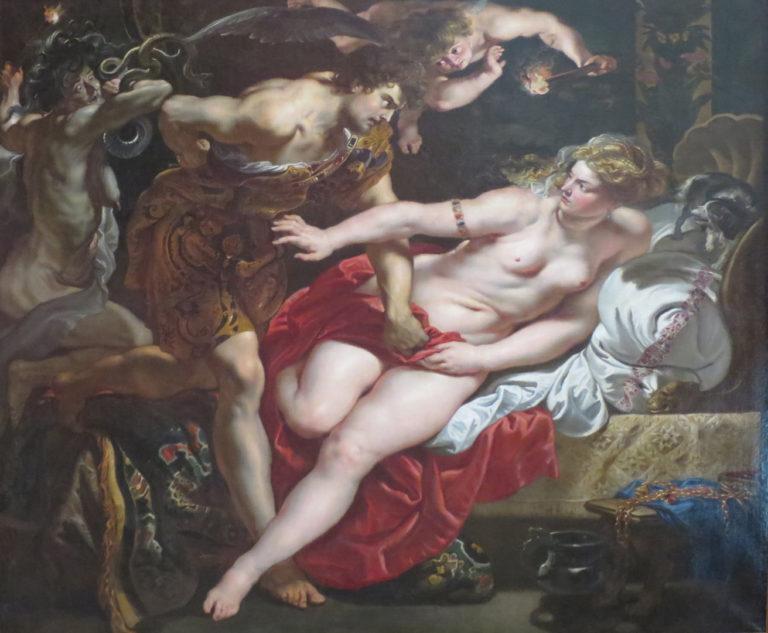 Тарквиний и Лукреция. Ок. 1609–1611