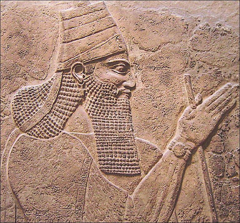 Тиглатпаласар III. Царь Ассирии ок. 745—727 гг. до н.э.