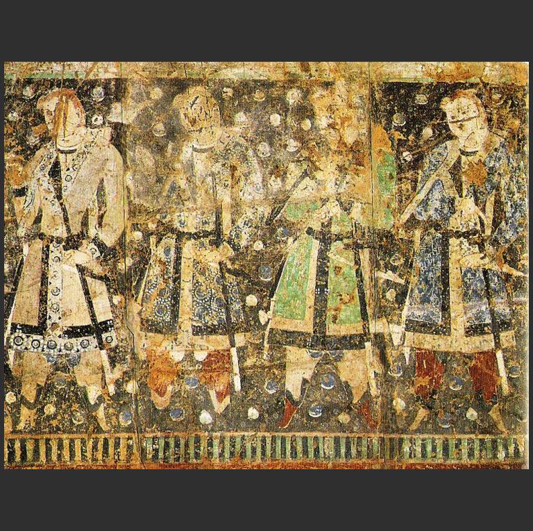 Тохарские князья. IV–V вв. н.э.