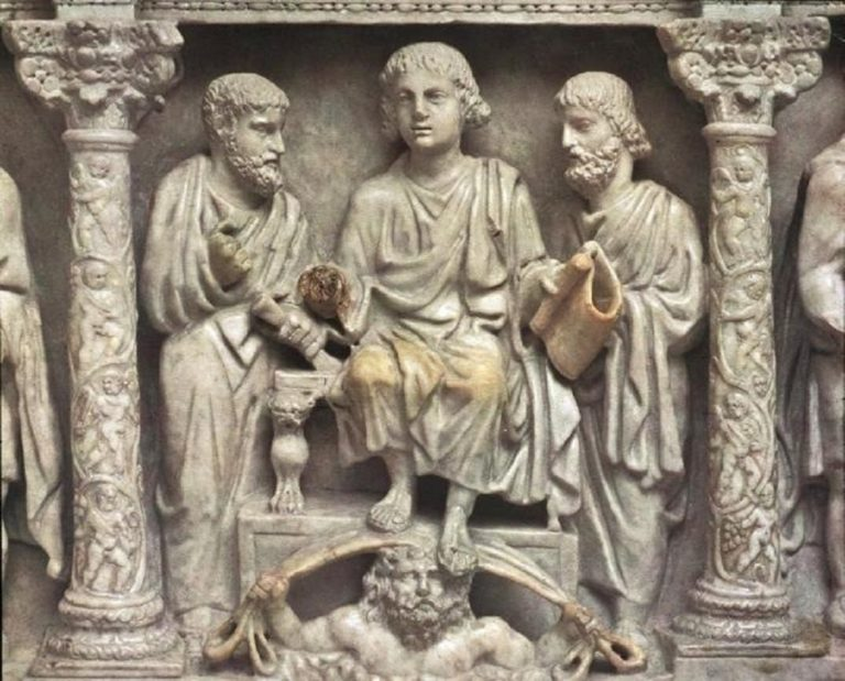 Traditio Legis – «Передача закона». 359 г.
