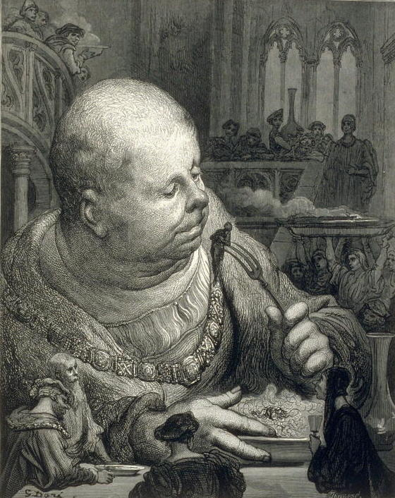 Трапеза Гаргантюа. 1873
