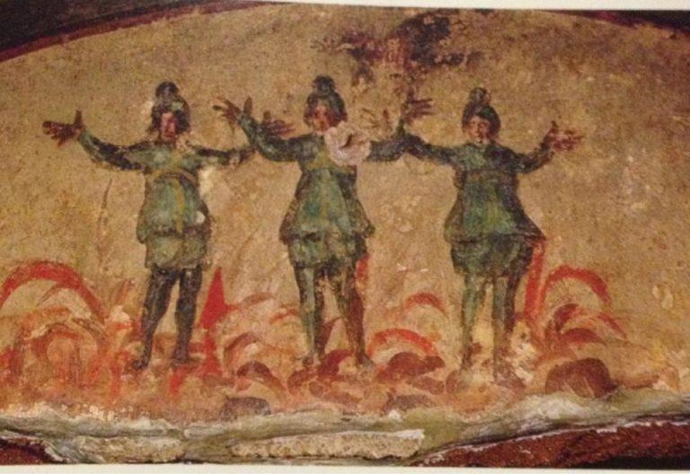 Три отрока в печи огненной