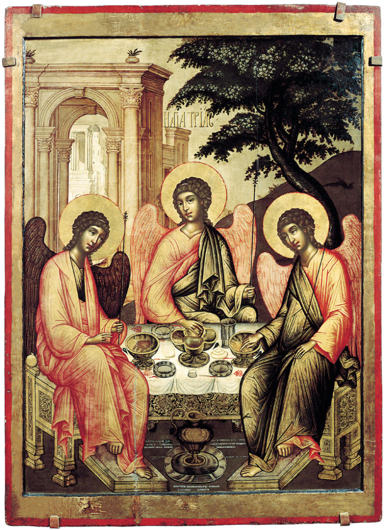 Троица Ветхозаветная. 1671