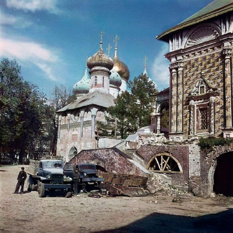 Троице-Сергиева Лавра в 1947 году