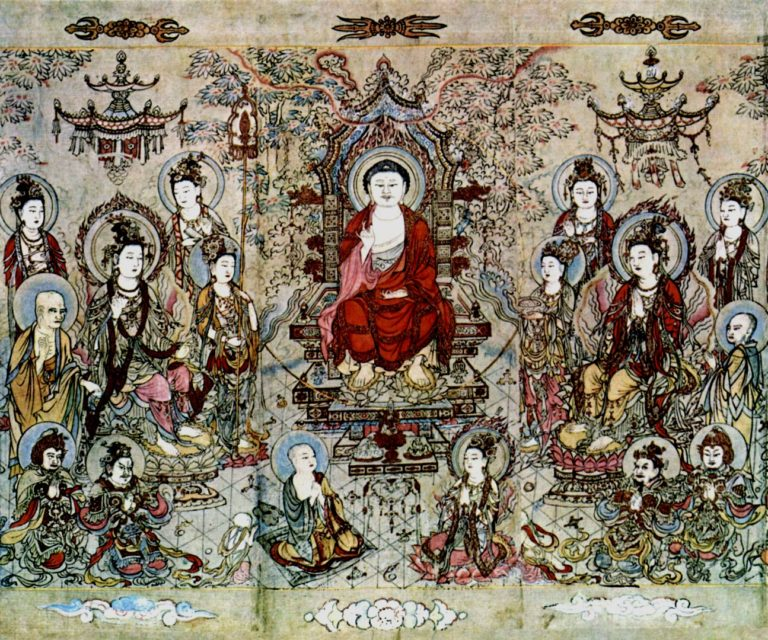 Учение Будды Шакьямуни. XII в.