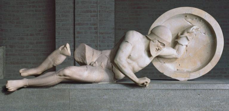 Умирающий воин. VI в. до н.э.