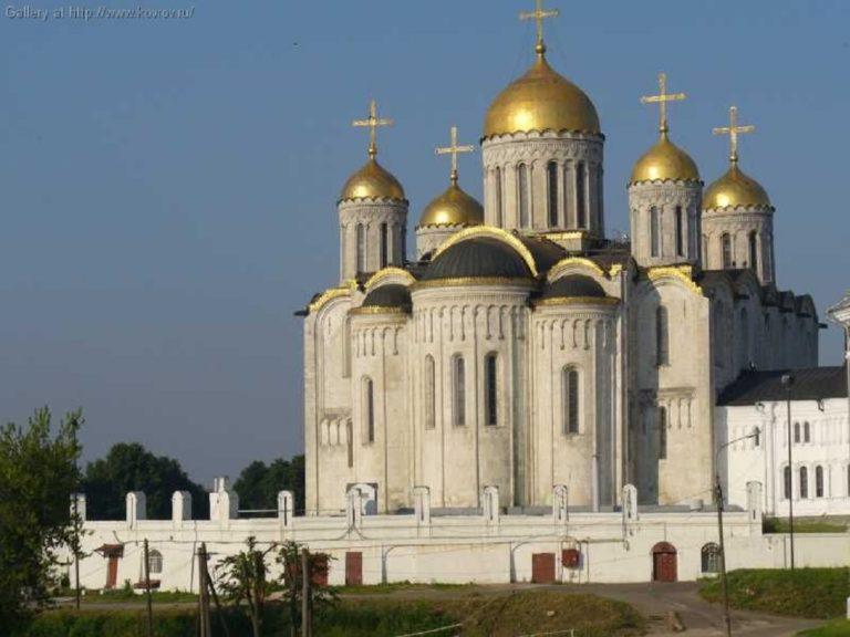 Успенский собор. 1158—1189 гг. Владимир
