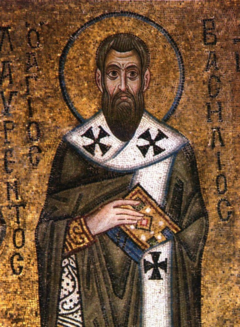 Василий Великий. XI в.
