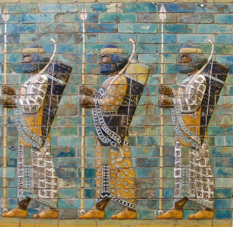 Вавилонские воины. 575 г. до н. э.