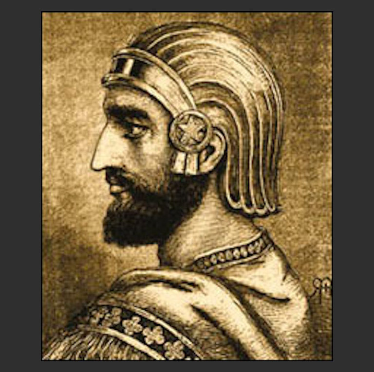 Вероятно, Кир II (ок. 593—530 гг. до н.э.)