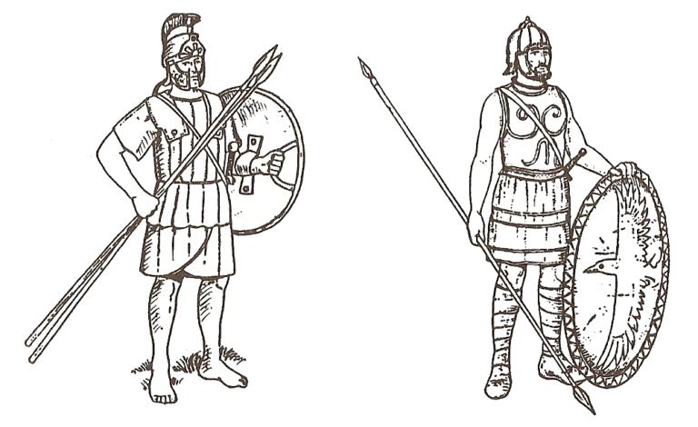 Воины армии Ксеркса из Малой Азии