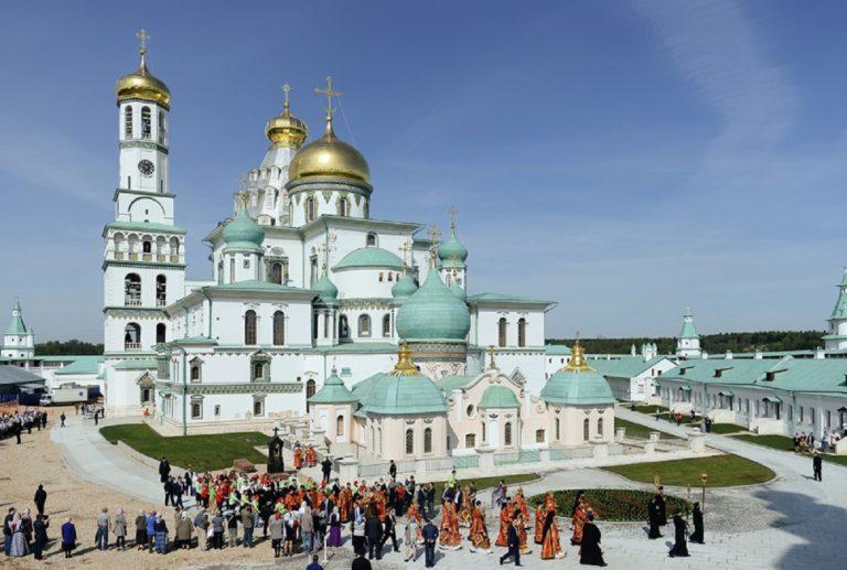 Воскресенский собор Ново-Иерусалимского монастыря. 1656—1685