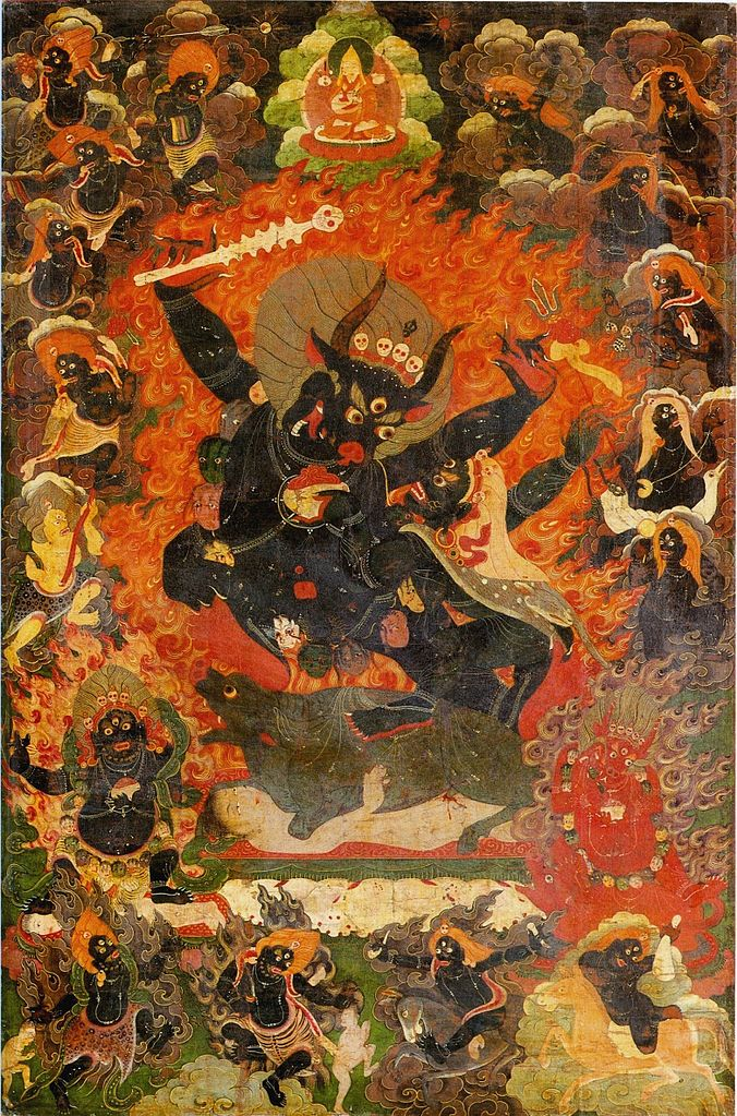 Яма, бог смерти. XVII в.