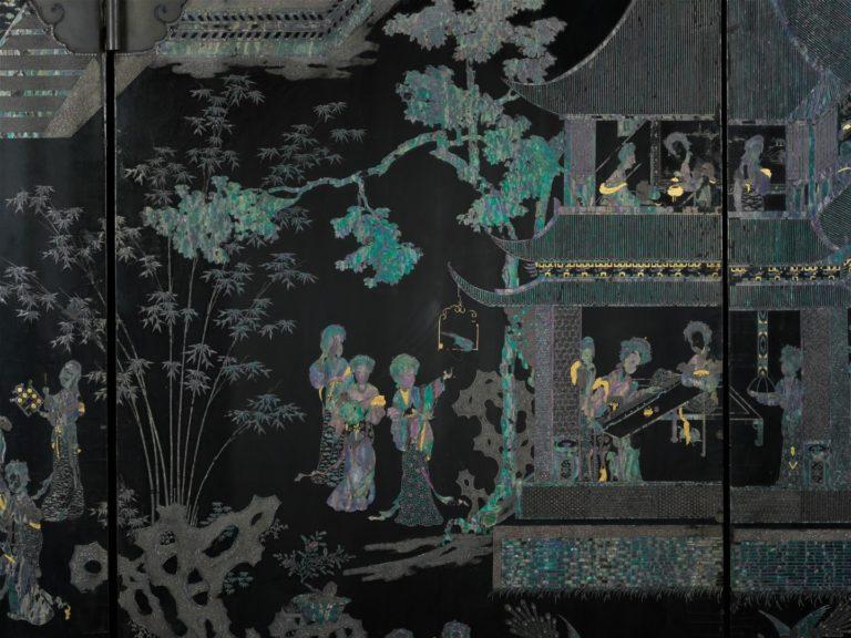 Женщины во дворце. Китай, XVII в.