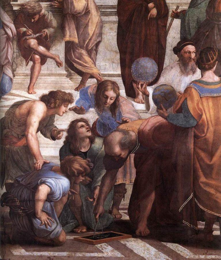 Заратустра держит небесную сферу. 1509