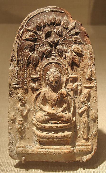 Будда под деревом Бодхи. VIII-IX вв.