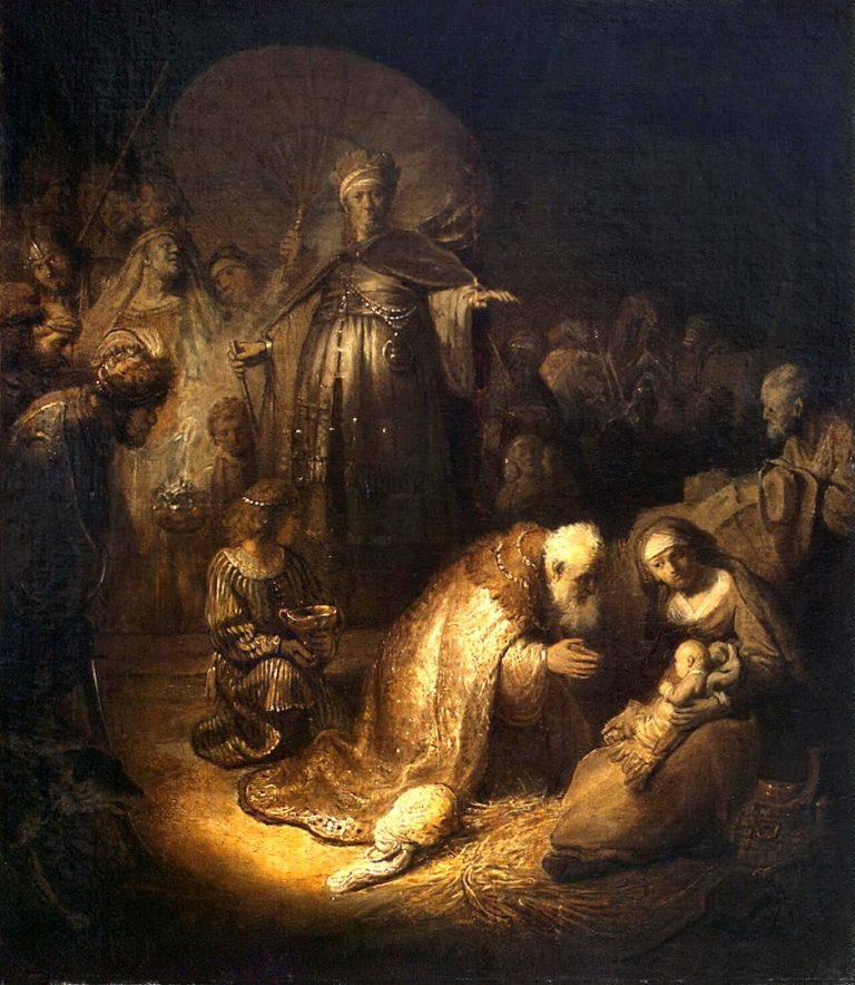 Поклонение волхвов. 1632