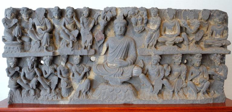Проповедающий Будда. III-IV вв. н.э.