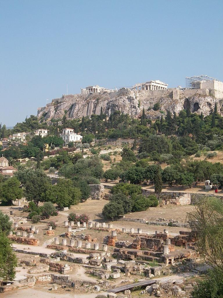 Акрополь и Агора в Афинах