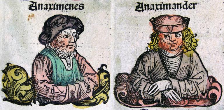 Анаксимандр и Анаксимен. 1493