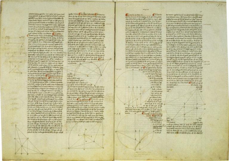 Архимед. О шаре и цилиндре. Ок. 1270 г. н.э.