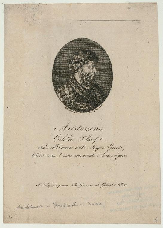 Аристоксен Тарентский. Ок. 1758 – 1833