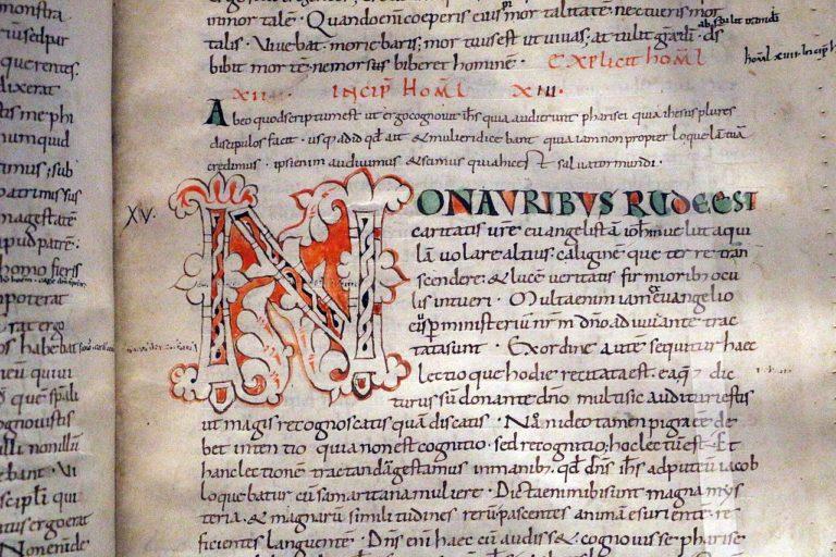 Августин. Рассуждения на Евангелие от Иоанна. Ок. 1050-1100