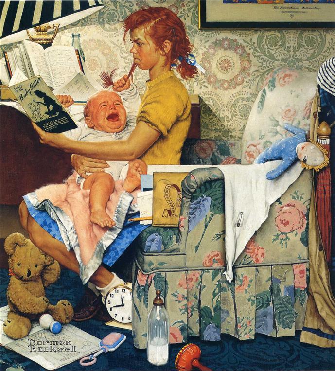 Бэбиситтер. 1947