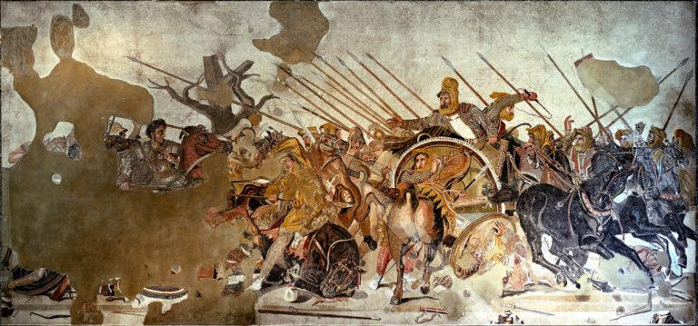 Битва при Иссе. I в. н. э.