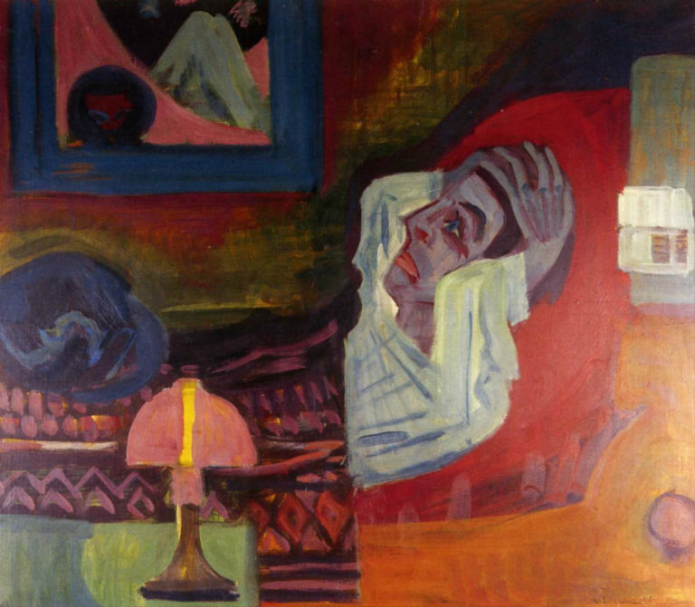 Больной. 1920