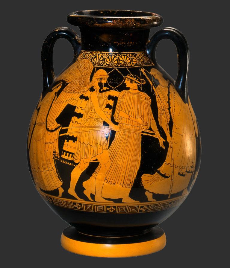 Борей похищает Орифию. Ок. 460-го г. до н.э.