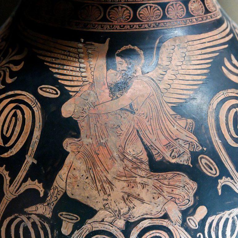 Борей похищает Орифию. Ок. 360 г. до н.э.