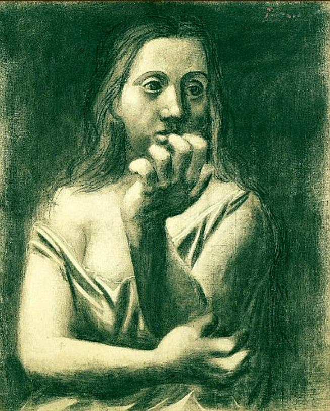 Бюст женщины. 1923